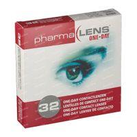 PharmaLens Tageslinsen (Dioptrie: -4.00) 32  kontaktlinsen