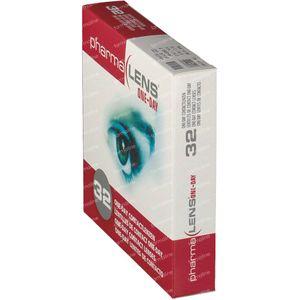 PharmaLens lentilles (jour/24 heurs) (Dioptrie: -4.00) 32 lentilles
