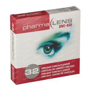 PharmaLens lentilles (jour/24 heurs) (Dioptrie: -5.00) 32 lentilles