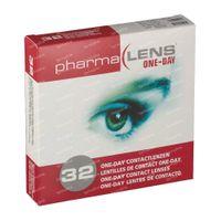 PharmaLens Tageslinsen (Dioptrie: -5.00) 32  kontaktlinsen