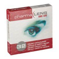 PharmaLens Tageslinsen (Dioptrie: -5.25) 32  kontaktlinsen