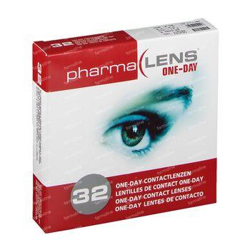 PharmaLens lentilles (jour/24 heurs) (Dioptrie: -6.50) 32 lentilles