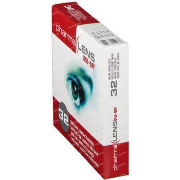 PharmaLens lentilles (jour/24 heurs) (Dioptrie: +1.00) 32 lentilles