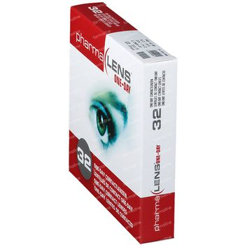 PharmaLens lentilles (jour/24 heurs) (Dioptrie: +2.00) 32 lentilles