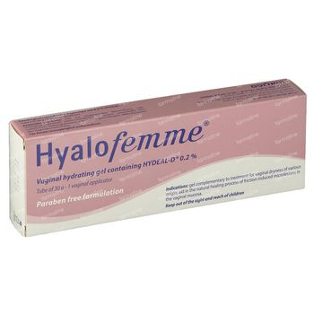 Hyalofemme Gel Vaginale + Applicateurs 30 g