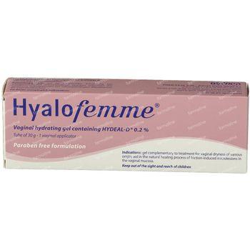 Hyalofemme Gel Vaginaal + Applicatoren 30 g