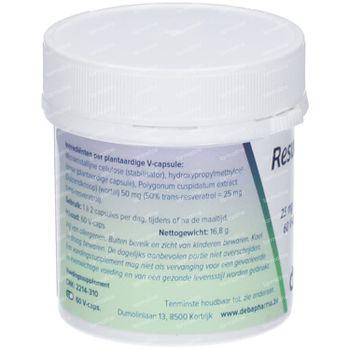 Deba Resveratrol Deba 25mg 60 capsules