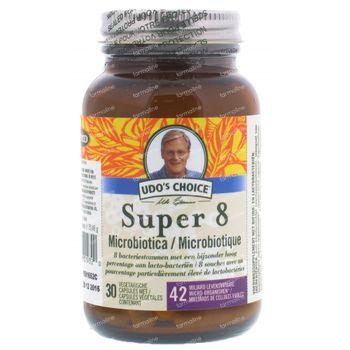 Udo's Choice Microbiotica Super 8 30 comprimés