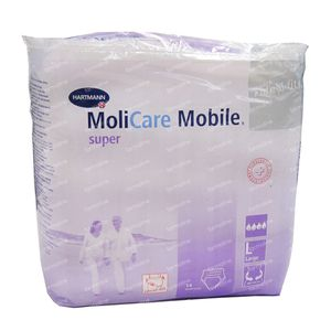 Hartmann Molicare Mobile Super N3 L 14 pieces