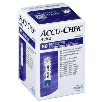 Accu-Chek Aviva Bandelettes Reactive 50 pièces