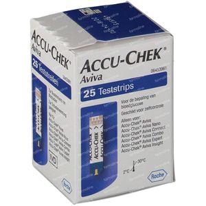 Accu-Chek Aviva Bandelettes Reactive 25 pièces