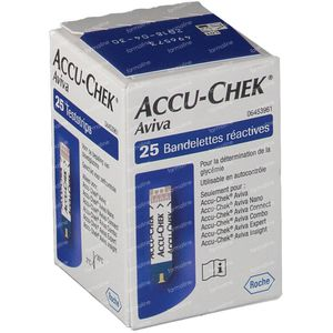 Accu-Chek Aviva Bandelettes Reactive 25 St
