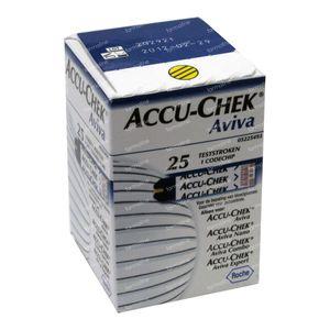 Accu-Chek Aviva 25 stuks