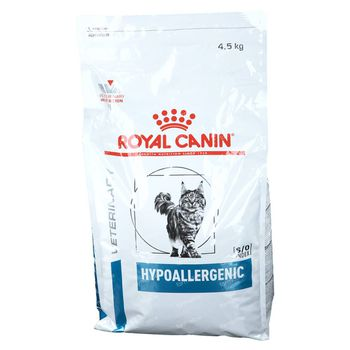 Royal Canin Chat Hypoallergenic 4,5 kg