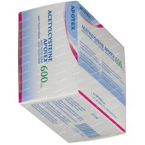 Acetylcysteïne Apotex 600mg 14 bruistabletten