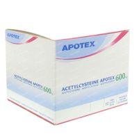 Acetylcysteïne Apotex 600mg 60  zakjes
