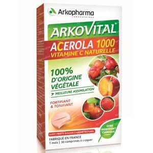 Arkovital Acerola 1000 30 comprimés