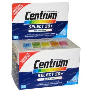 Centrum Select 50+ + Luteine 30 comprimidos