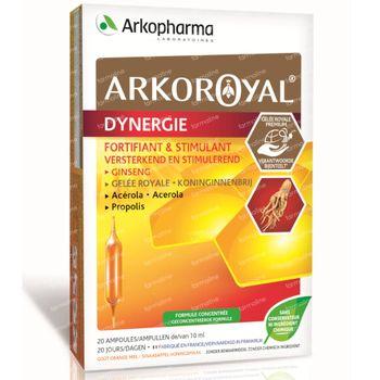 Arkoroyal Dynergie 20x10 ml ampoules