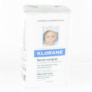 Klorane Bébé Savon Surgrais 250 g
