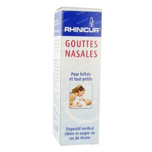 Rhinicur Gouttes Nasales 20 ml