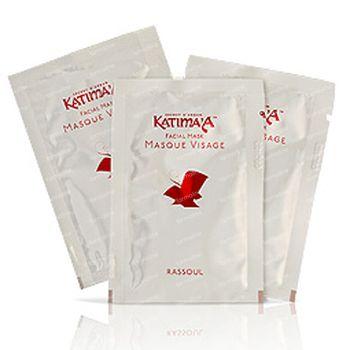 Katima'a Masque Visage Rassoul + lotion 20 pièces