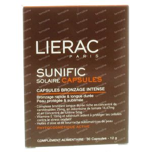 Lierac Soleil Bronzage 30 capsules