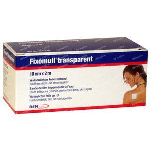 Fixomull Fixation Bandage 10cm x 2m 1 St