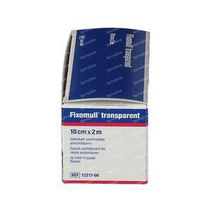 Fixomull Fixation Bandage 10cm x 2m 1 pezzo