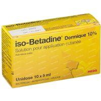iso-Betadine Dermicum 10% Unidose 50 ml unidosis