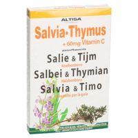 Altisa Pastilles d'Aspiration Sauge/Thym 75 g