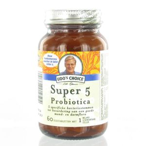Udo's Choice Microbiotica Super 5 60  comprimés