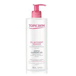 Topicrem Gentle Cleansing Gel Body & Hair 500 ml