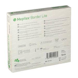 Mepilex Border Lite Steriel 10cm x 10cm 281300 5 stuks