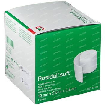 Rosidal Soft 10cm x 0.3cm x 2.5m 23110 1 st