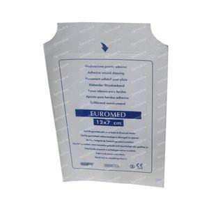 Euromed 7cm x 12cm Island Plaster Sterile 1 St