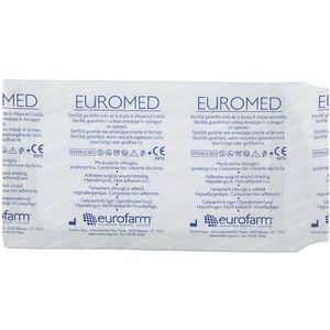 Euromed 7cm x 12cm Eilandpleister Steriel 1 stuk