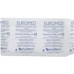 Euromed 7cm x 12cm Pansement d'Ile Sterile 1 pièce