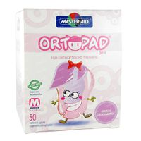Ortopad For Girls Medium Compresse Oculaire 2-5 Ans 50 st