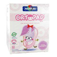 Ortopad For Girls Medium Oogpleister 2-5 Jaar 50 st