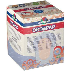 Ortopad For Boys Medium Eye Compres 2-5 Years 50 pezzi