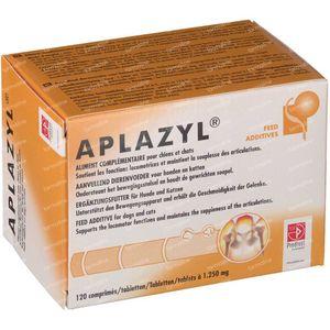Aplazyl Dog/Cat 120 stuks Compresse