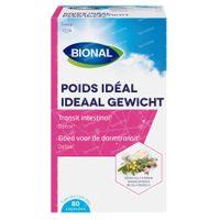 Bional Ideaal Gewicht – Afslanken – Voedingssupplement met Senna en Kattedoorn 80  capsules