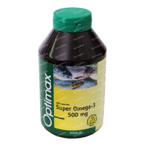 Optimax Super Omega 3 500mg 180 cápsulas