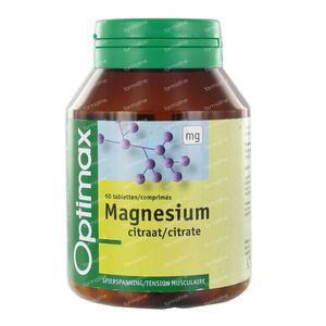 Optimax Magnesium Citrate 250Mg 60 tablets