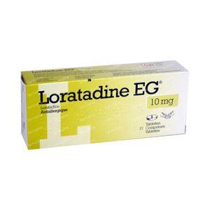 Loratadine EG 10mg 21 St Tabletten