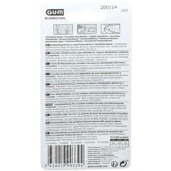 GUM Bi-Direction 1,2mm 6 pièces
