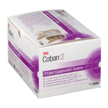 3M Coban 2 Bandes Système De Compression 2094 2 st