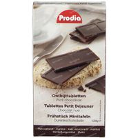 Prodia Ontbijttabletten Bitter Chocolade 128 g