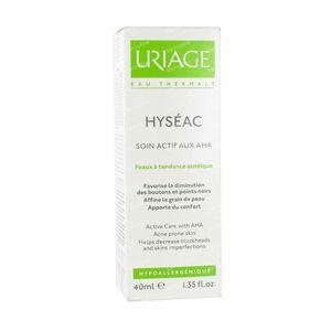 Uriage Hyseac Active Verzorging AHA Acné 40 St